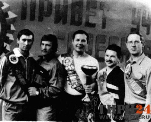 Чемпионы Красноярского края по гиревому спорту
