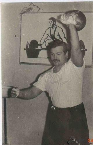 Упражнение рывок. Гиревой спорт. Архив