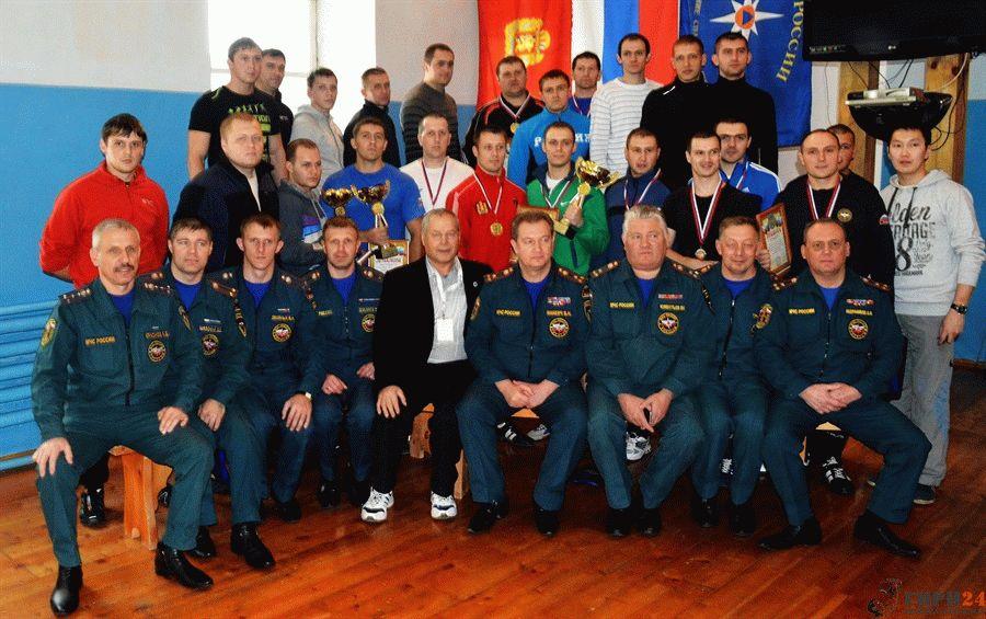 Фотография на память об Чемпионате МЧС