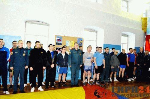 Открытие чемпионата МЧС.
