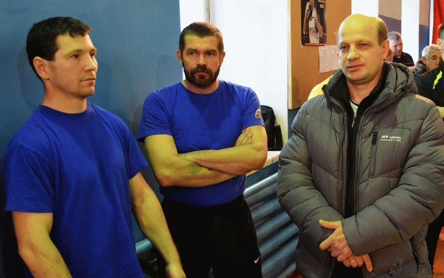 Сергей Винокуров, Николай Эстер и Сергей Ершов.