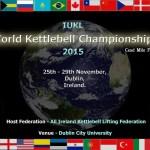 Чемпионат мира по гиревому спорту в Дублине